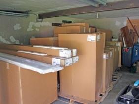Cabinets delivered!