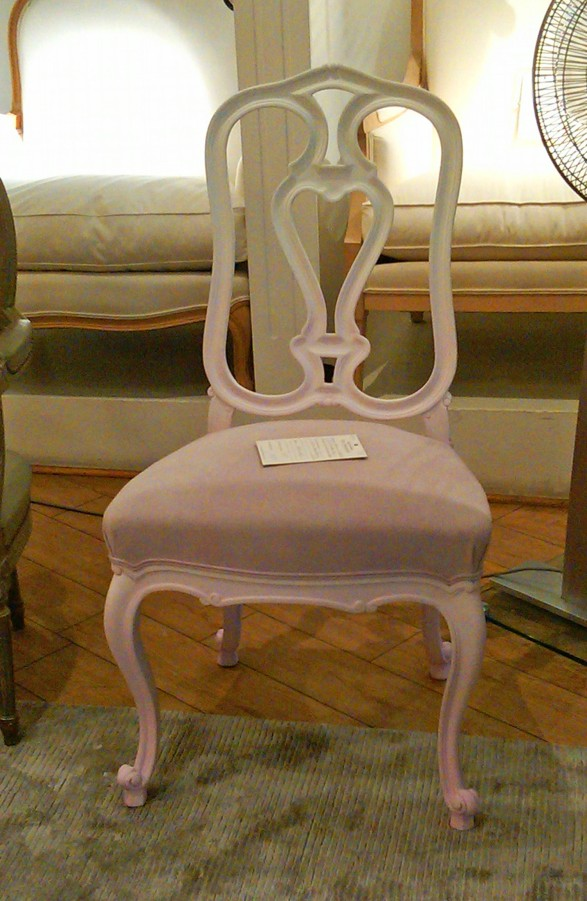 ombre parisian chair