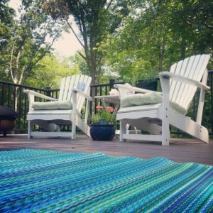 recycled outdoor rug