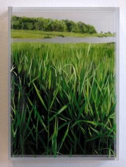 """Bailey's Creek"" © Jess Hurley Scott Art landscape painting"
