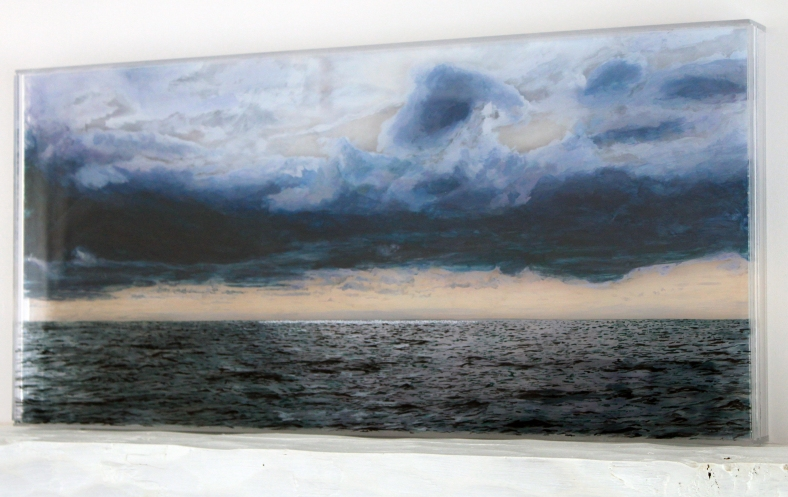 Nantucket #2, sideview ©Jess Hurley Scott, landscape painting