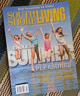 South Shore Living Magazine, July 2015, Jess Hurley Scott, Lucky Finn Cafe